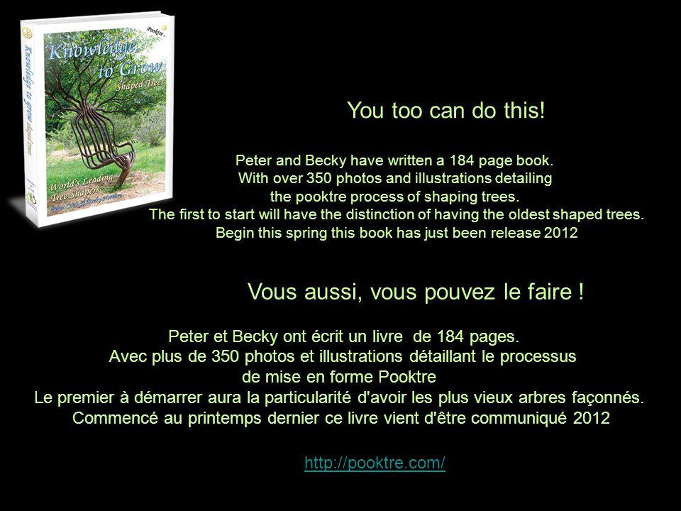 Vous aussi, vous pouvez le faire !