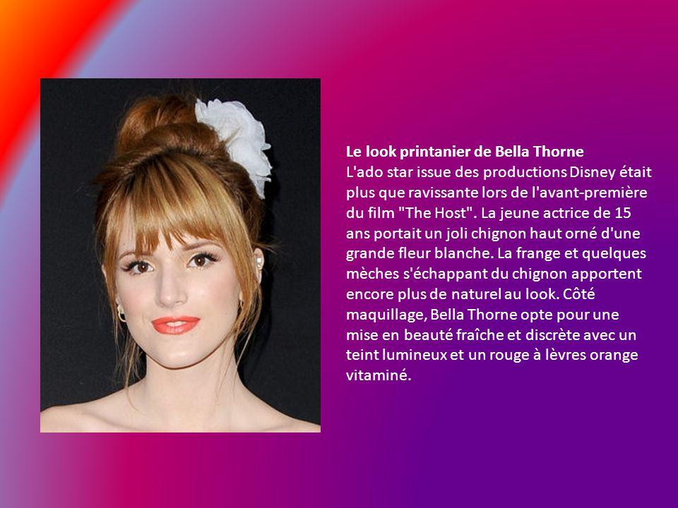 Le look printanier de Bella Thorne