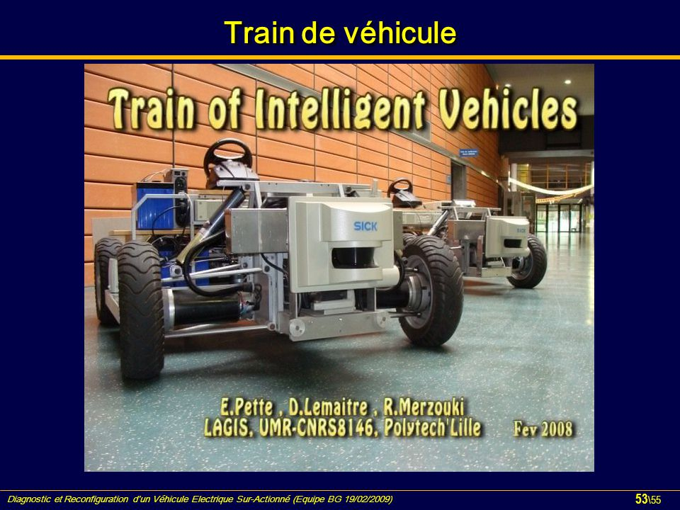 Train de véhicule