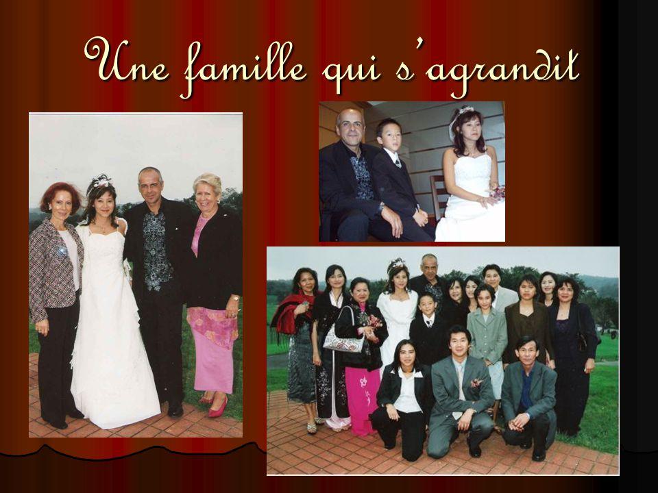 Une famille qui s'agrandit