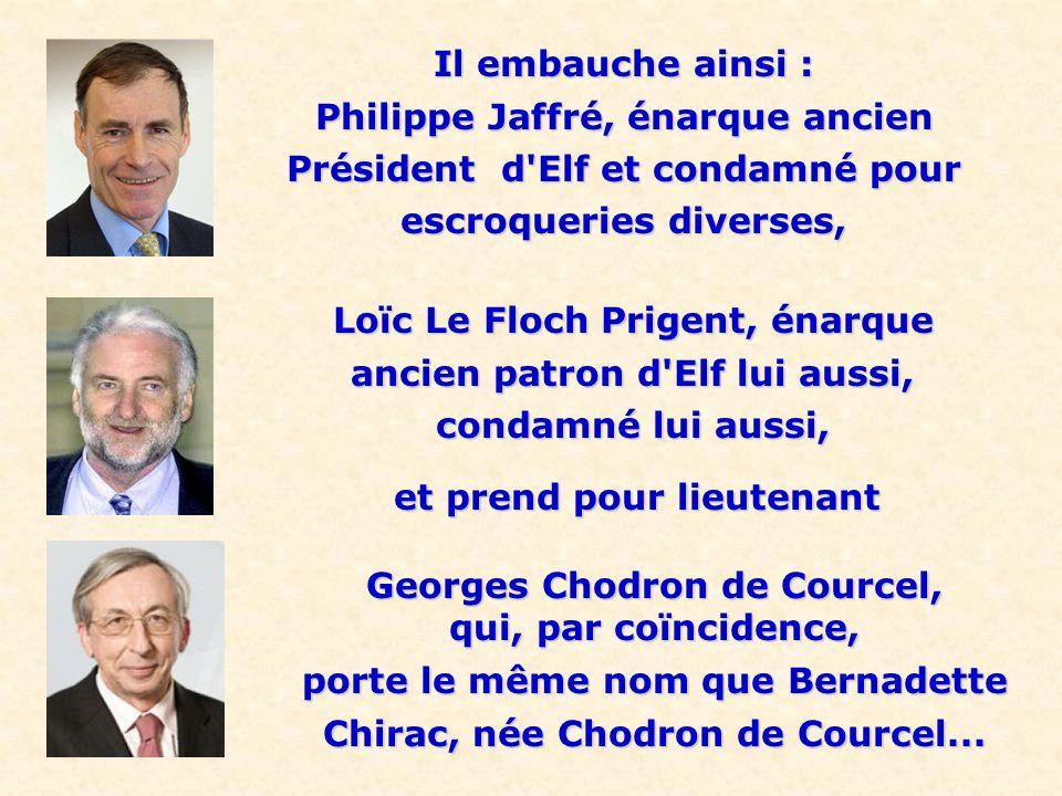 Philippe Jaffré, énarque ancien Président d Elf et condamné pour
