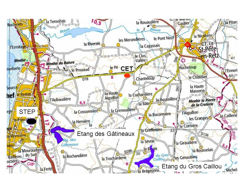 CET STEP Etang des Gâtineaux Etang du Gros Caillou