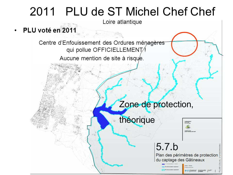 2011 PLU de ST Michel Chef Chef Loire atlantique