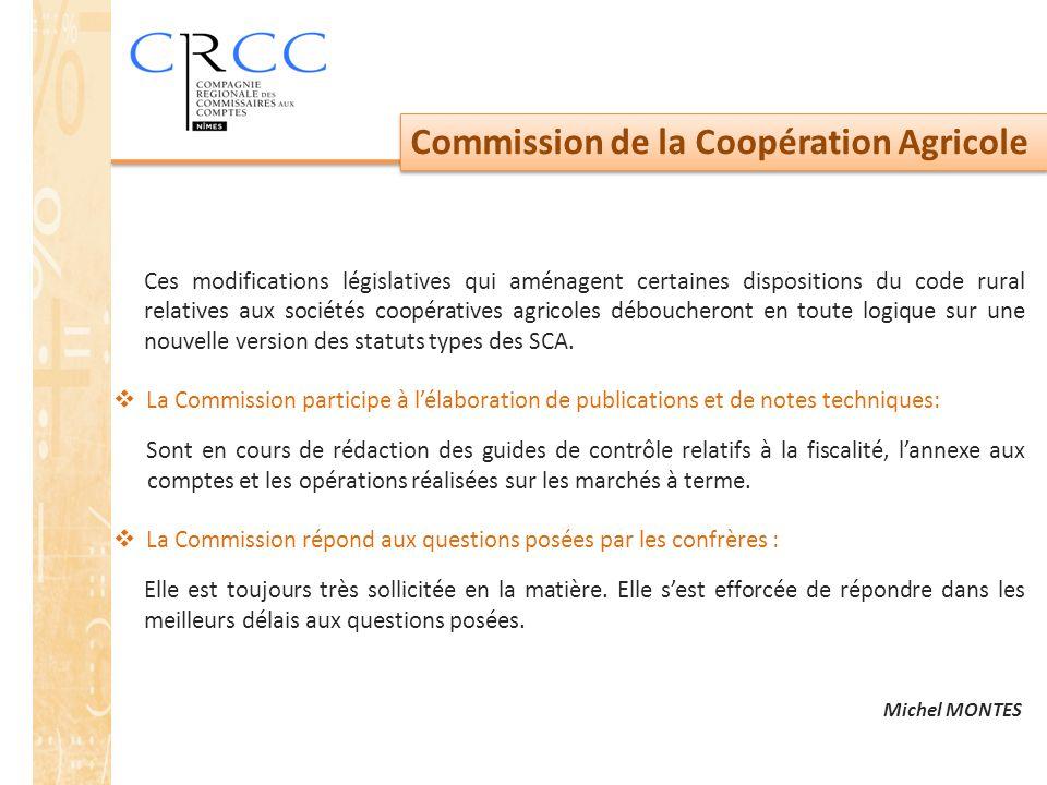Commission de la Coopération Agricole