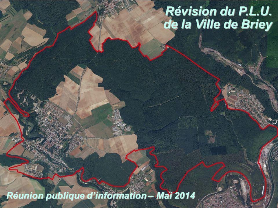 Révision du P.L.U. de la Ville de Briey