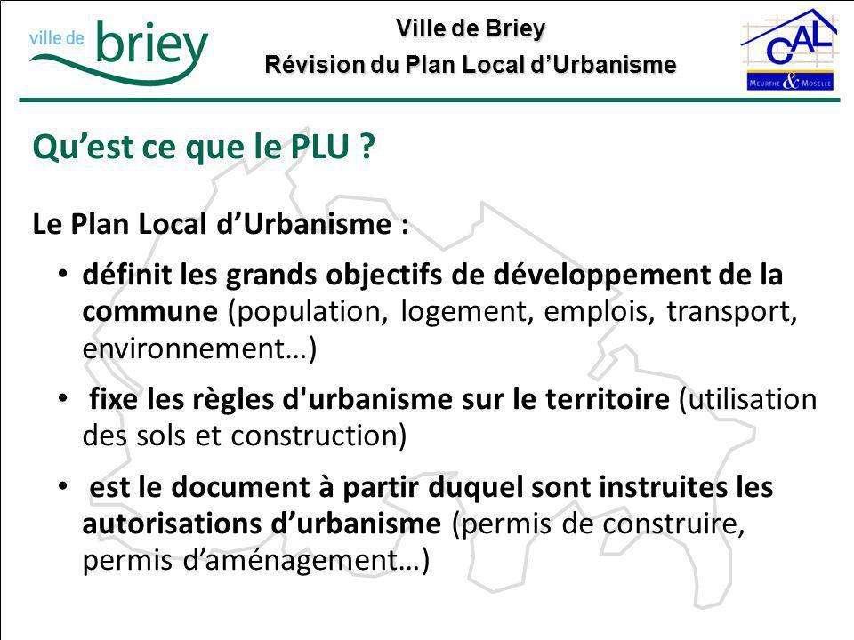 Qu'est ce que le PLU Le Plan Local d'Urbanisme :