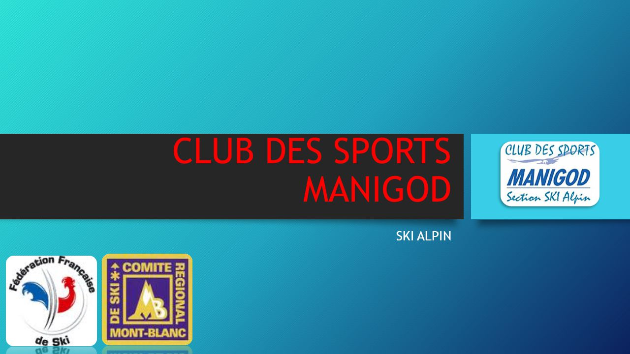 CLUB DES SPORTS MANIGOD