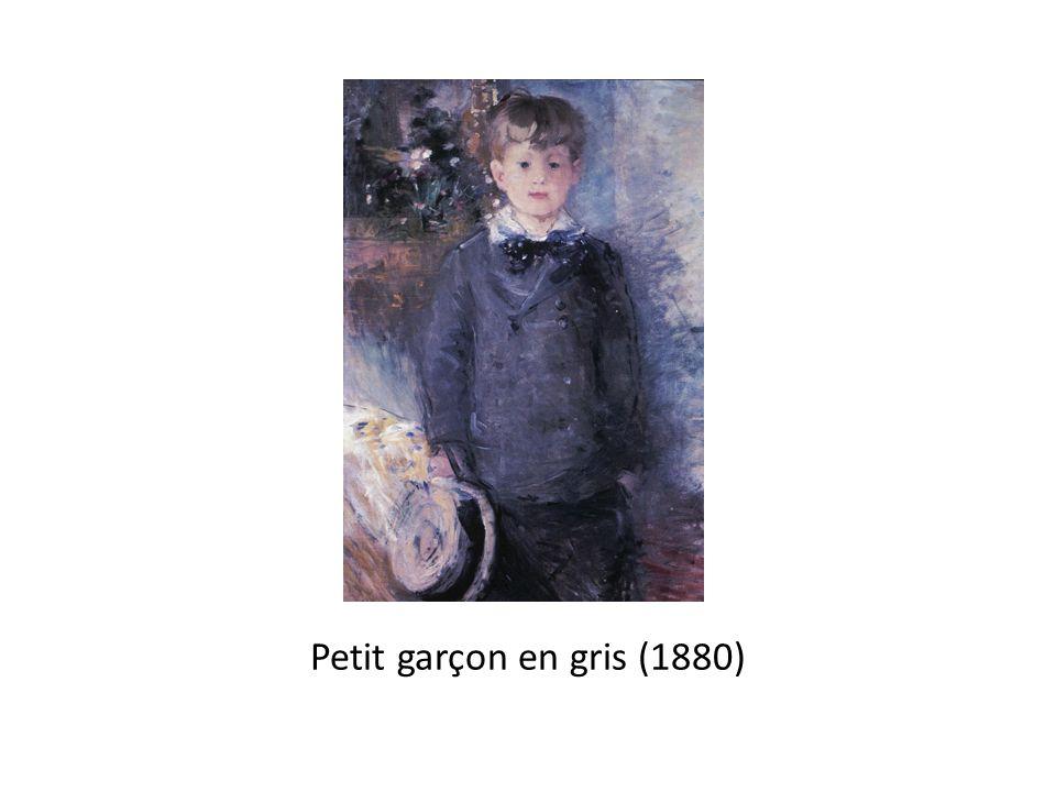 Petit garçon en gris (1880)
