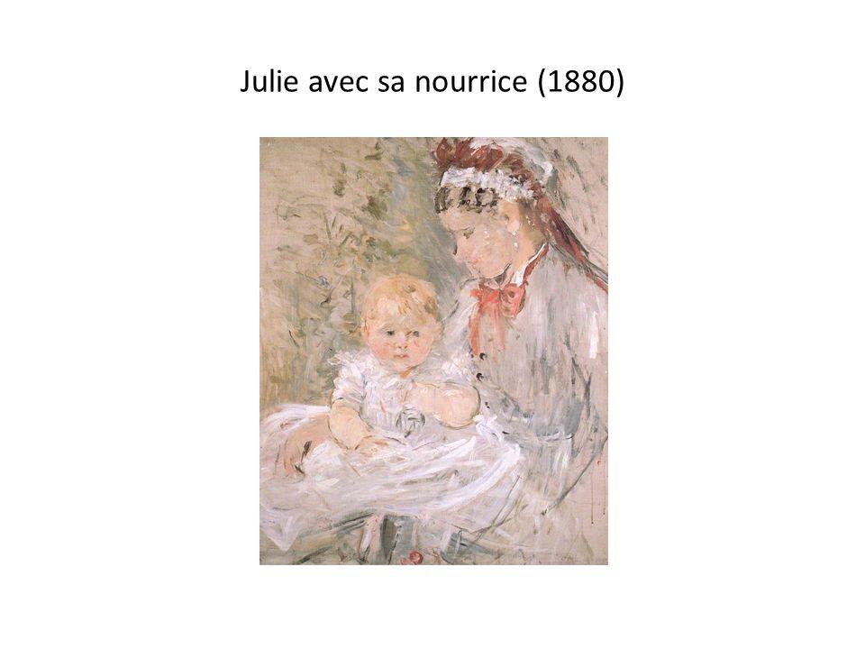 Julie avec sa nourrice (1880)