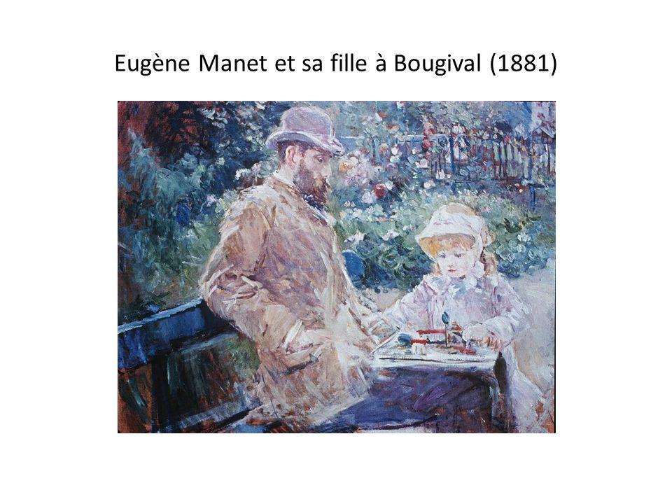 Eugène Manet et sa fille à Bougival (1881)