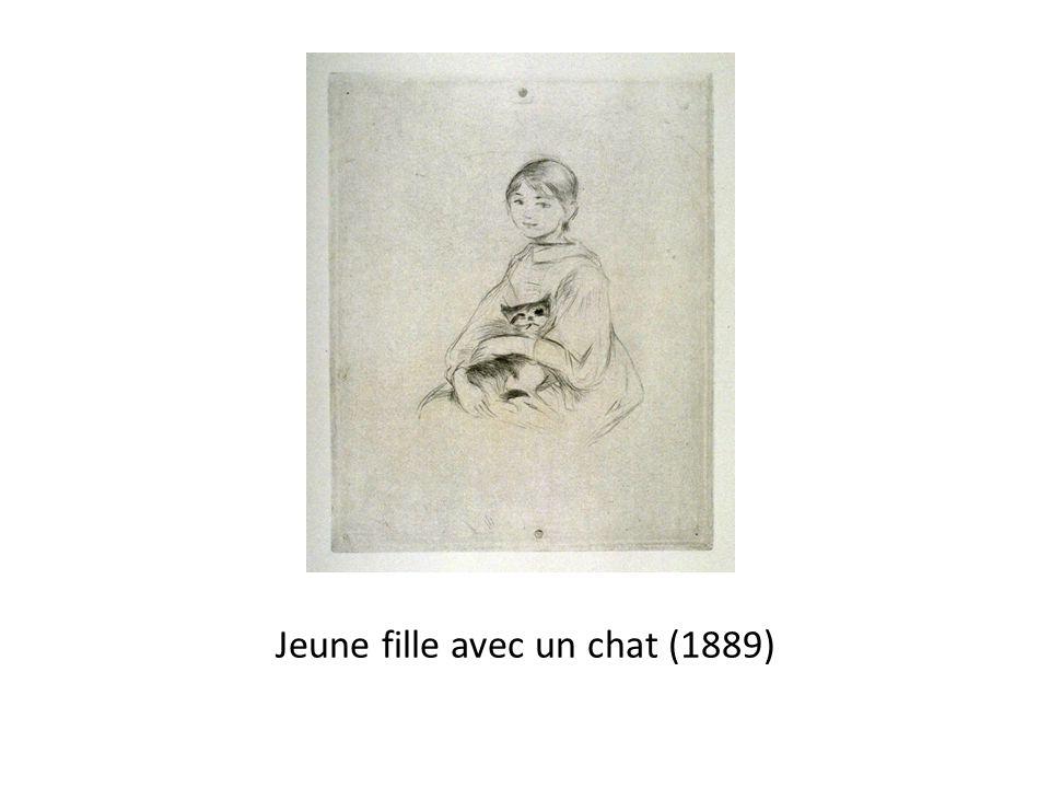 Jeune fille avec un chat (1889)