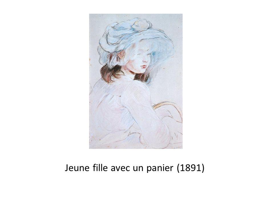 Jeune fille avec un panier (1891)