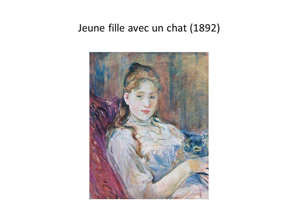 Jeune fille avec un chat (1892)