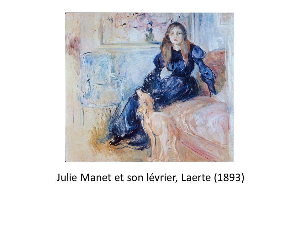 Julie Manet et son lévrier, Laerte (1893)