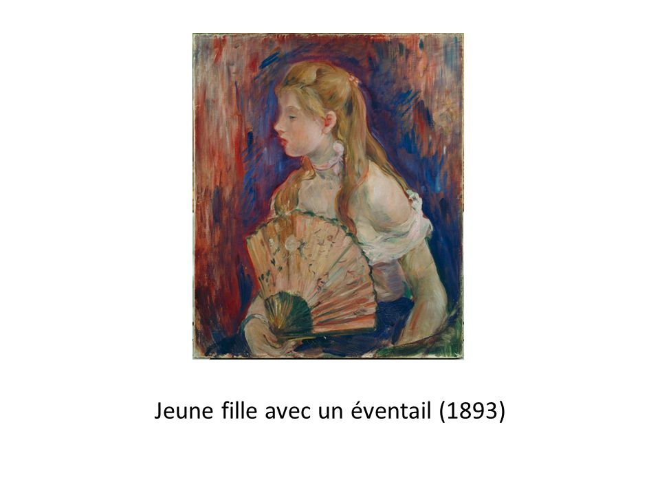 Jeune fille avec un éventail (1893)