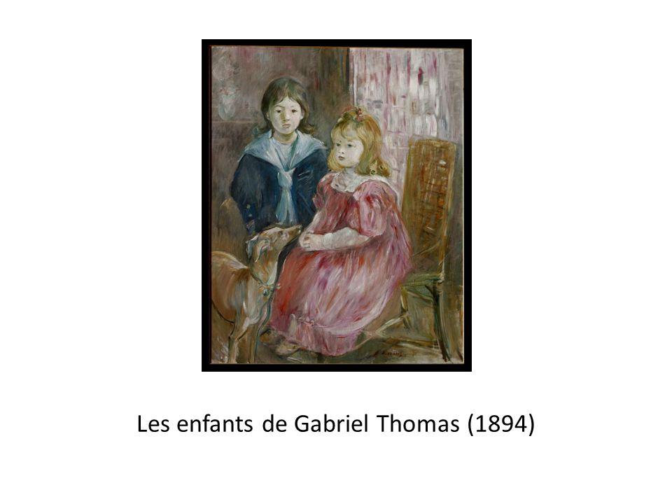 Les enfants de Gabriel Thomas (1894)
