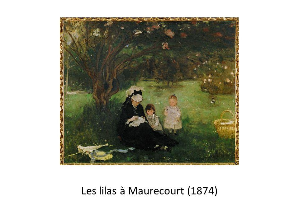Les lilas à Maurecourt (1874)