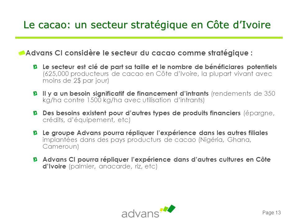 Le cacao: un secteur stratégique en Côte d'Ivoire