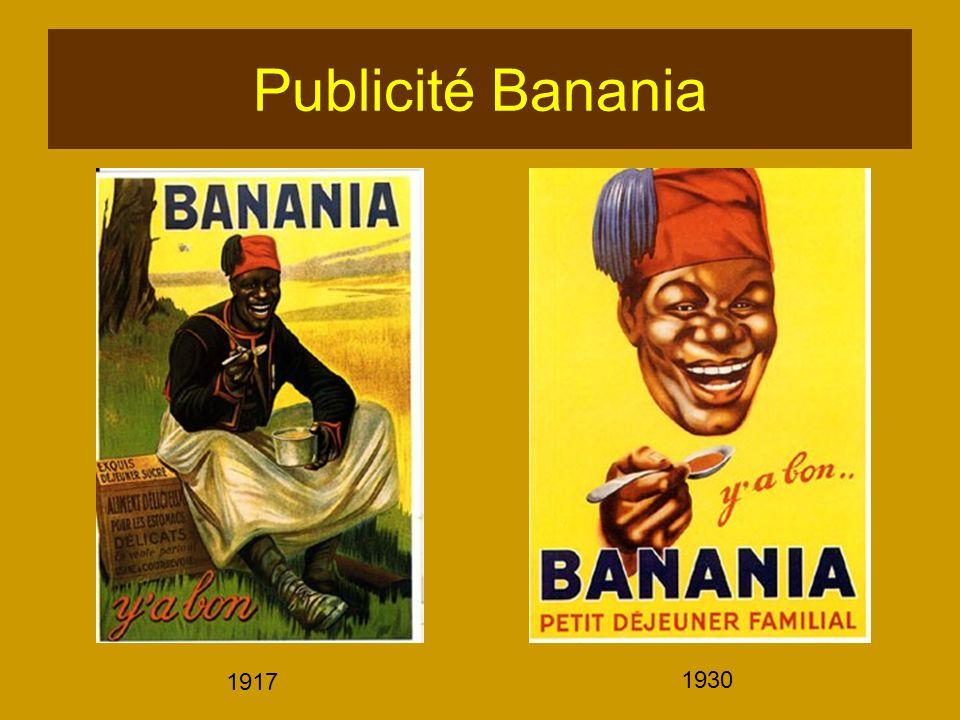 Publicité Banania 1917 1930