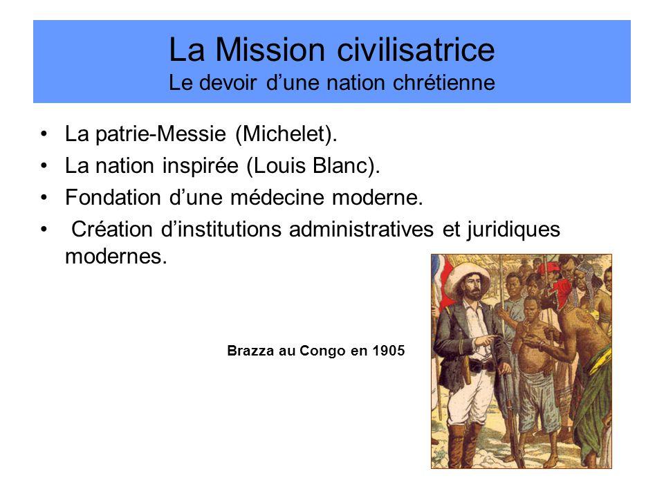 La Mission civilisatrice Le devoir d'une nation chrétienne