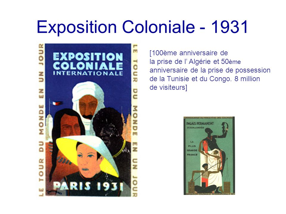 Exposition Coloniale - 1931