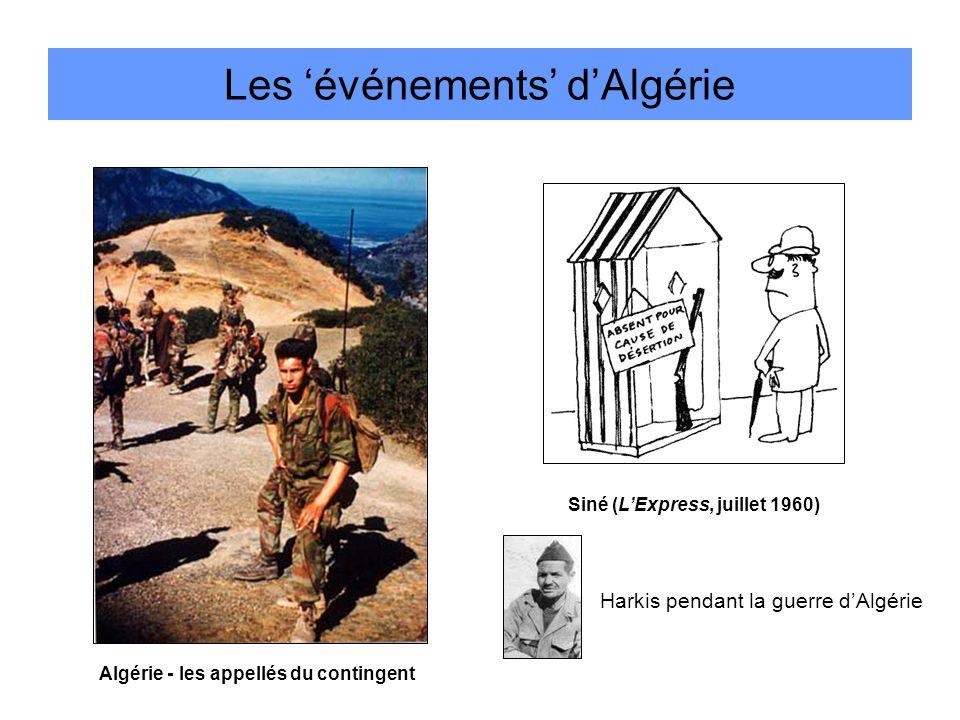 Les 'événements' d'Algérie
