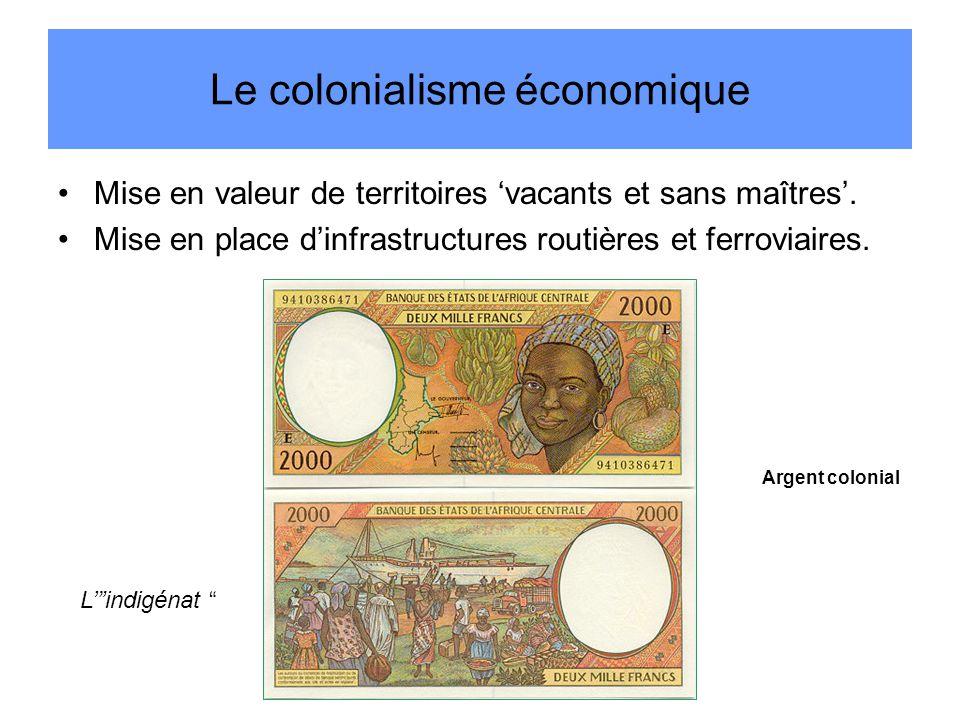Le colonialisme économique