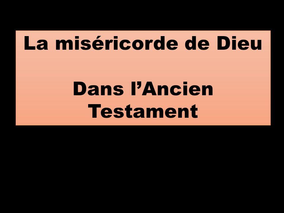 Dans l'Ancien Testament