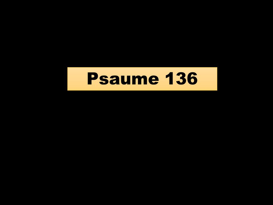 Psaume 136
