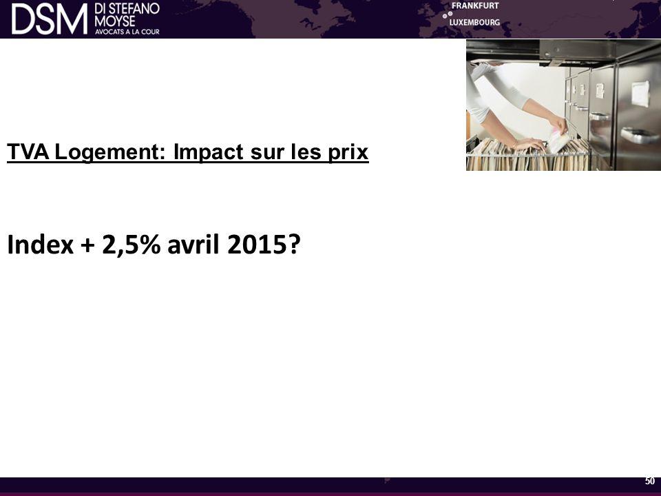 TVA Logement: Impact sur les prix