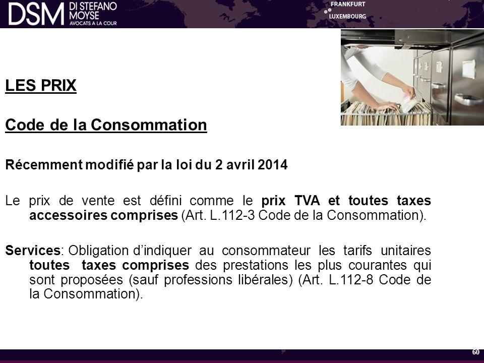 Code de la Consommation