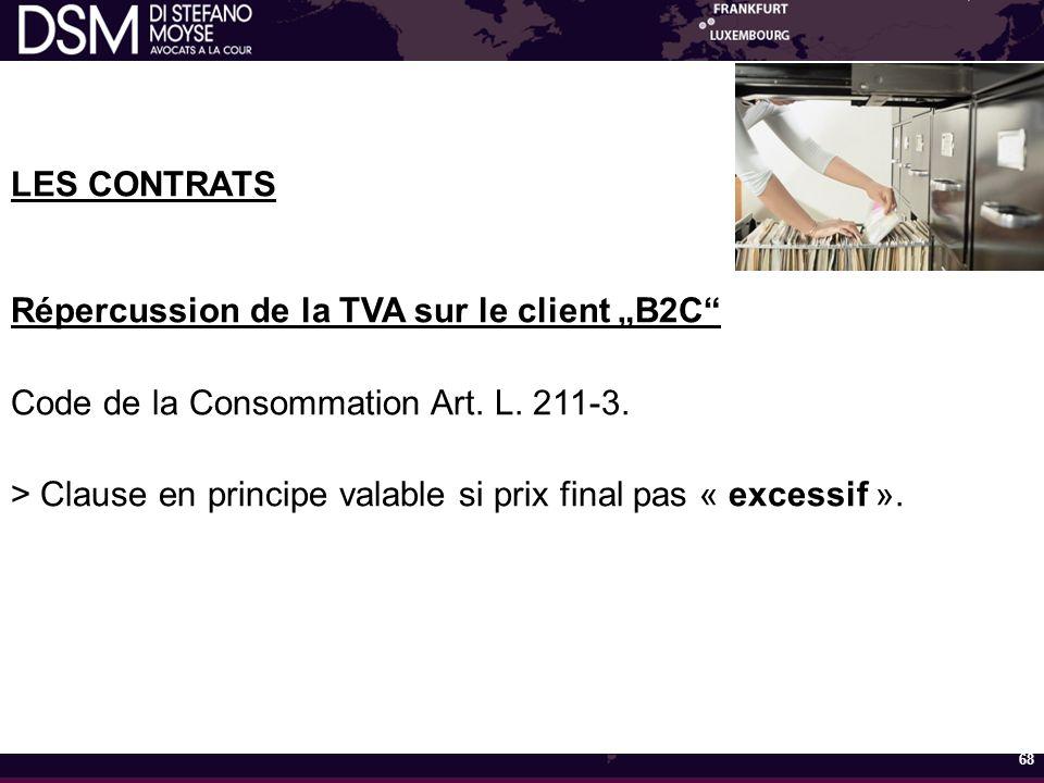 """Répercussion de la TVA sur le client """"B2C"""