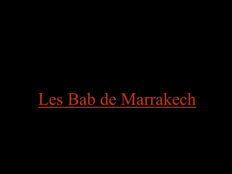 Les Bab de Marrakech