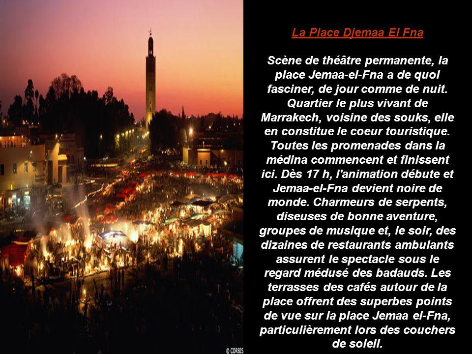 La Place Djemaa El Fna