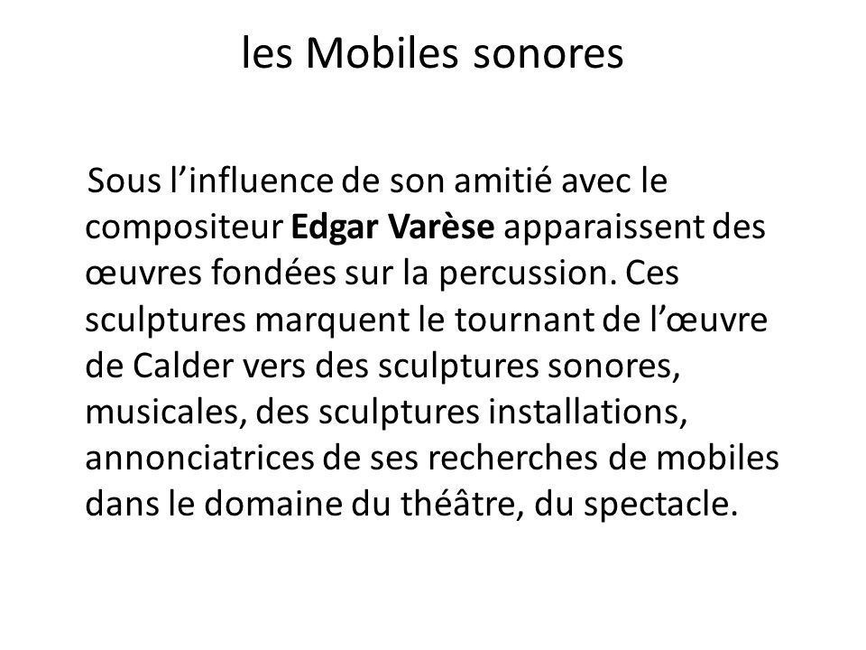 les Mobiles sonores