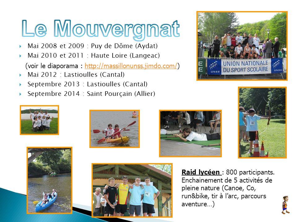 Le Mouvergnat Mai 2008 et 2009 : Puy de Dôme (Aydat)