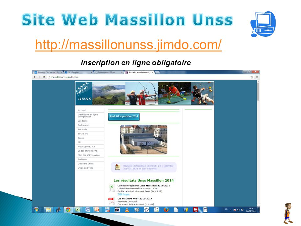 Site Web Massillon Unss