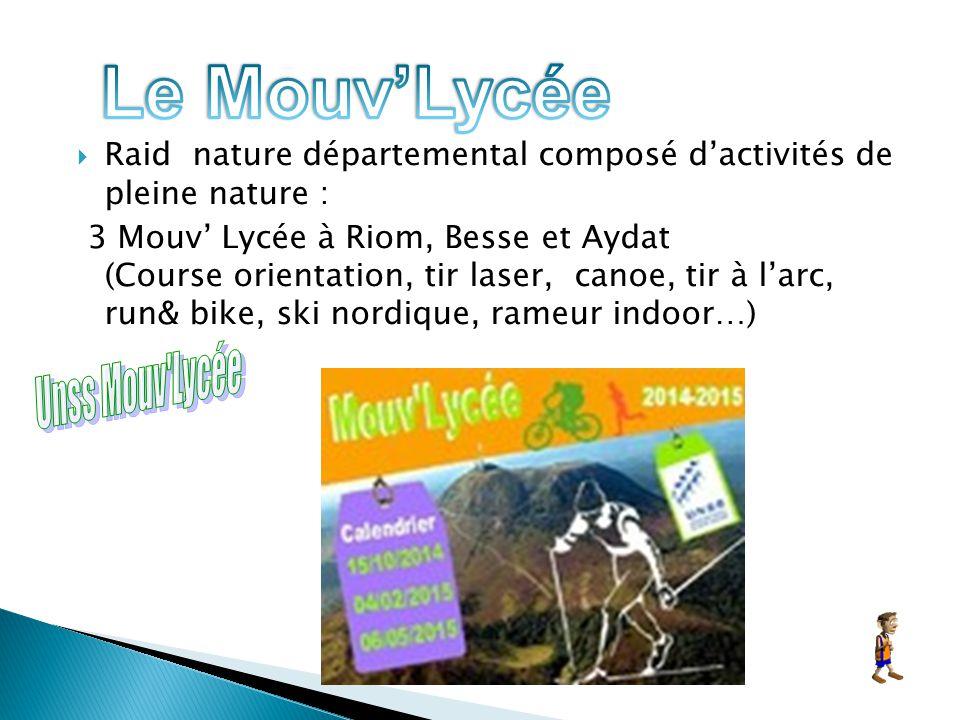 Le Mouv'Lycée Unss Mouv Lycée