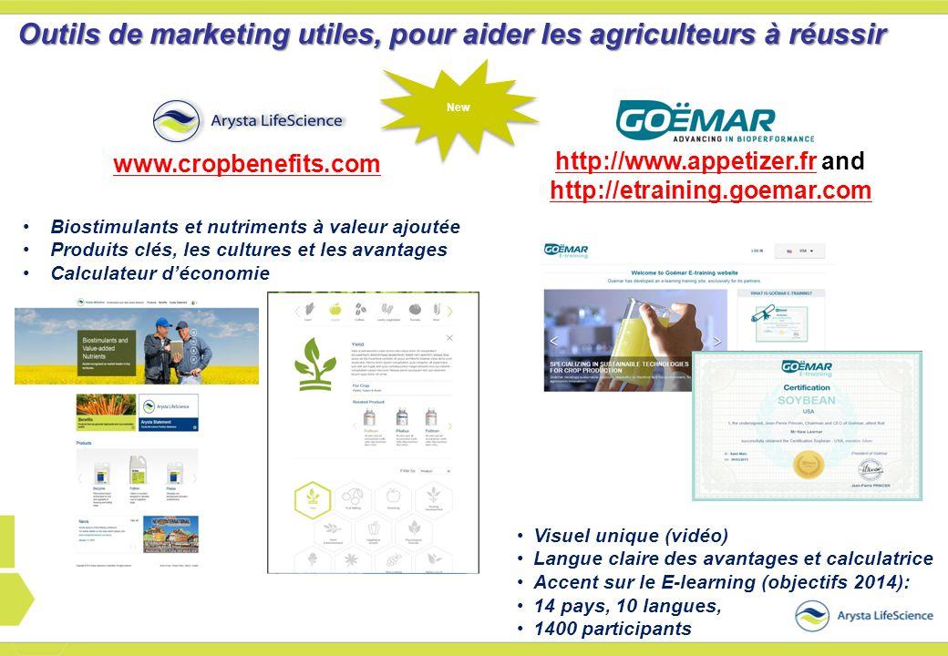 http://www.appetizer.fr and http://etraining.goemar.com