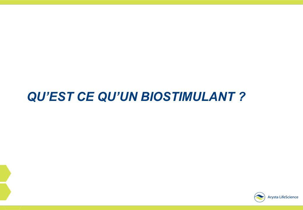 Qu'est ce qu'un bioSTIMULANT