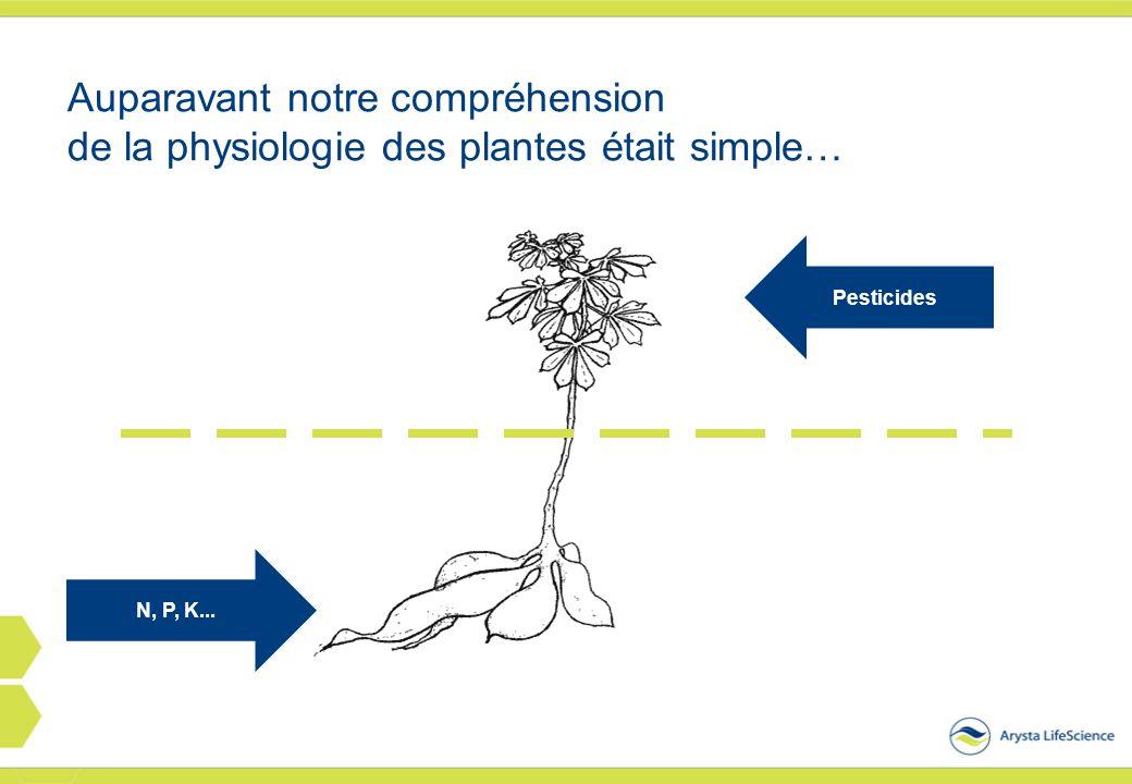 Auparavant notre compréhension de la physiologie des plantes était simple…