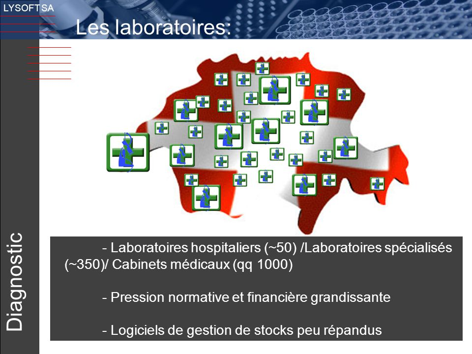 Les laboratoires: Diagnostic