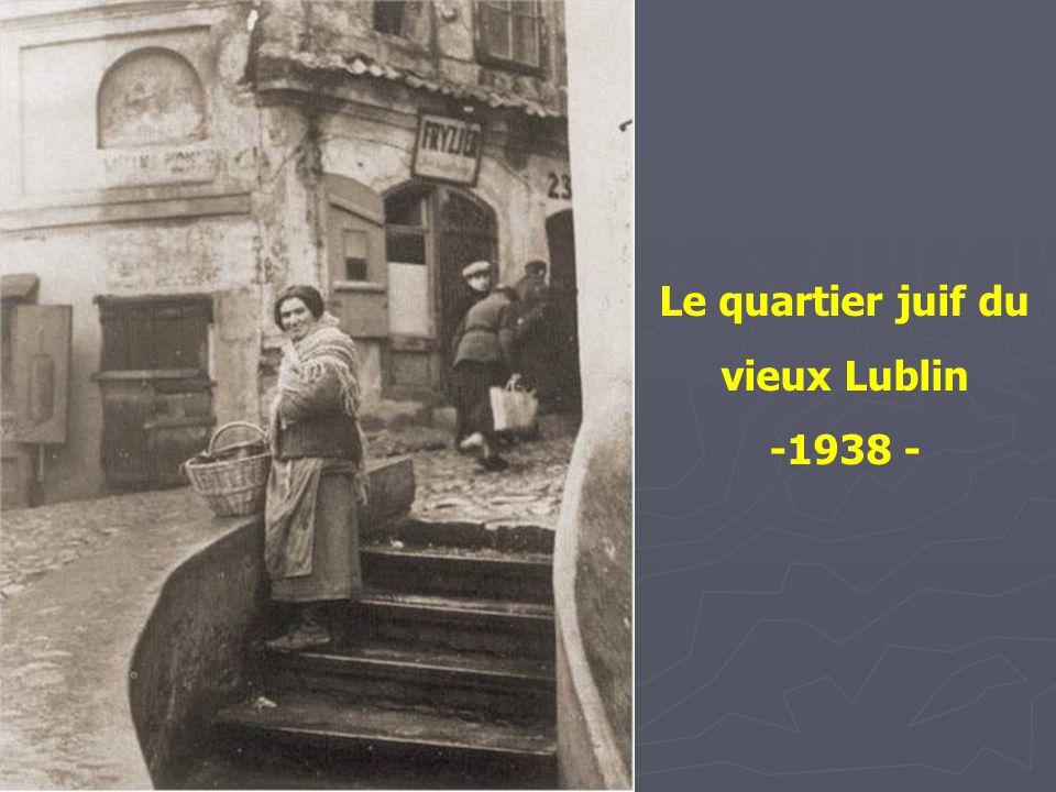 Le quartier juif du vieux Lublin
