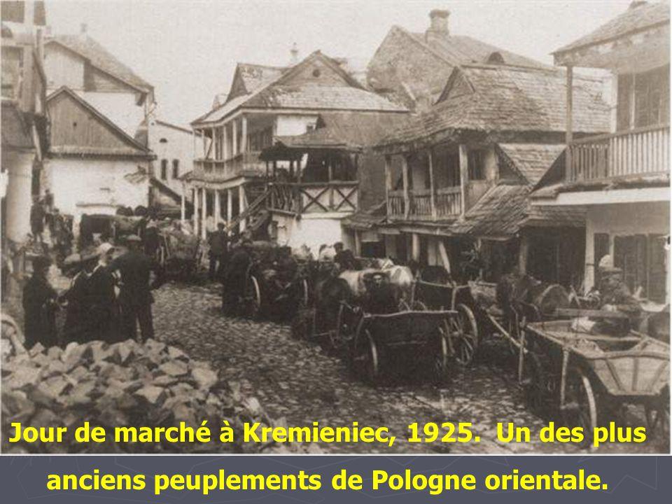 Jour de marché à Kremieniec, 1925