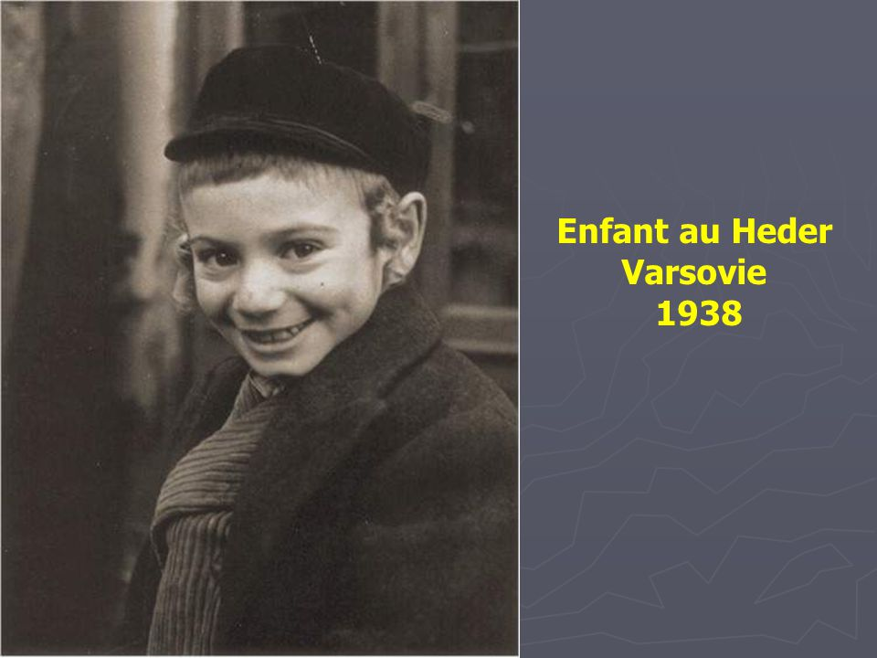 Enfant au Heder Varsovie