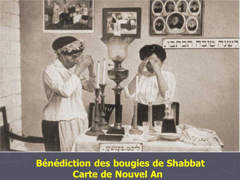 Bénédiction des bougies de Shabbat