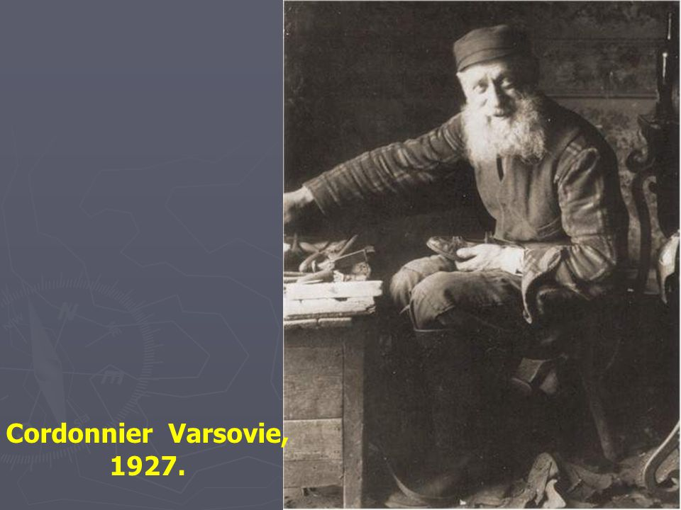 Cordonnier Varsovie, 1927.