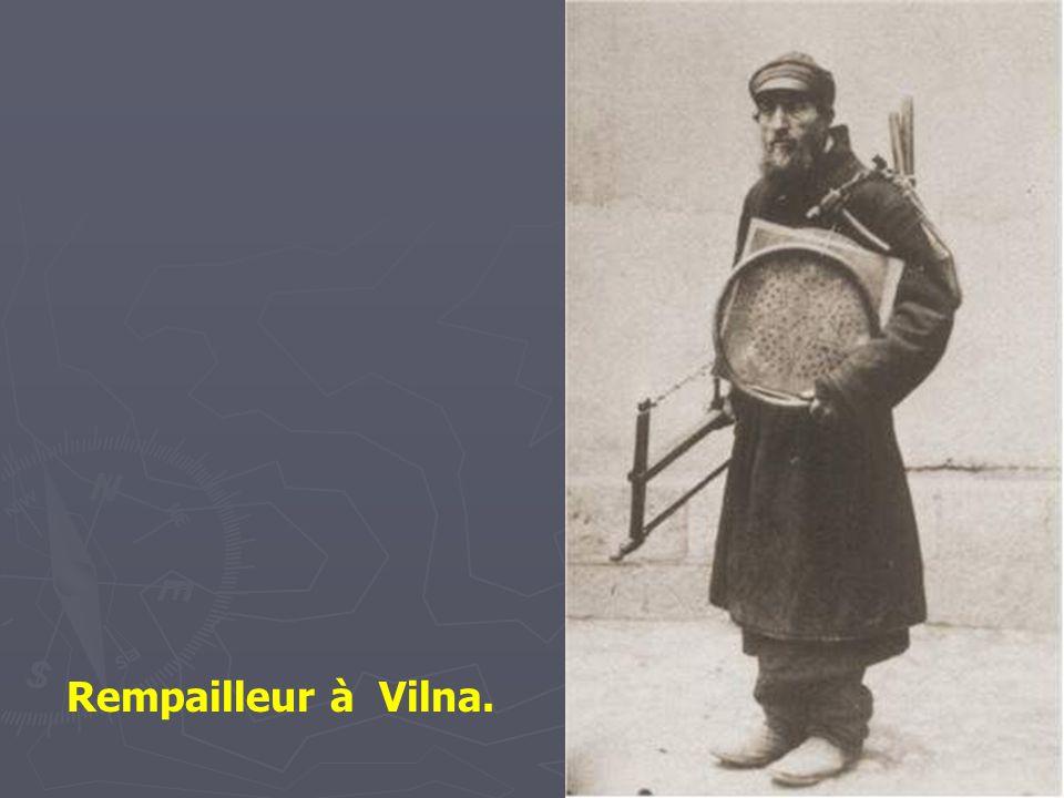 Rempailleur à Vilna.