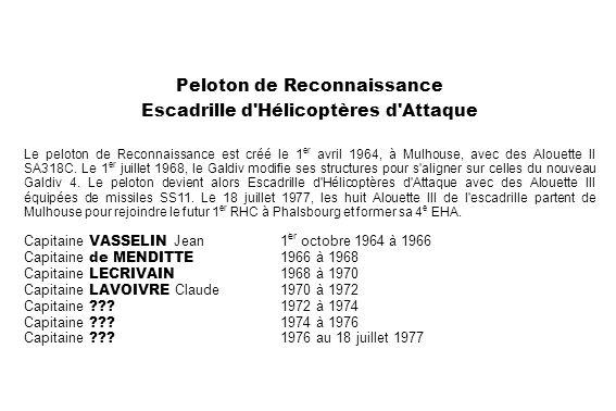 Peloton de Reconnaissance Escadrille d Hélicoptères d Attaque
