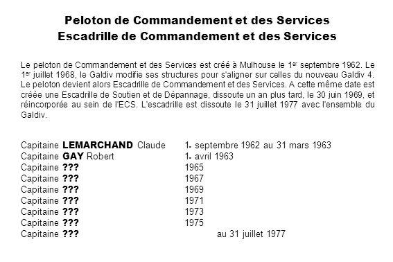 Peloton de Commandement et des Services